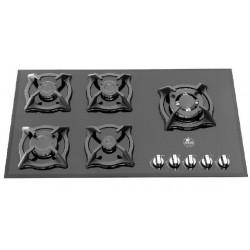 اجاق گاز رومیزی پنج شعله شیشه سکوریت آدلر مدل 501R