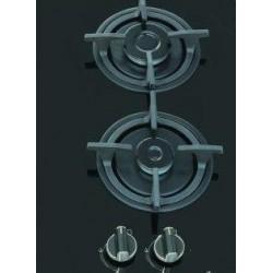اجاق گاز رومیزی دو شعله شیشه سکوریت آدلر مدل 201
