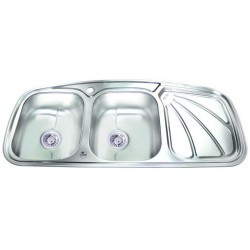 سینک ظرفشویی توکار نیم فانتزی آدلر مدل 211
