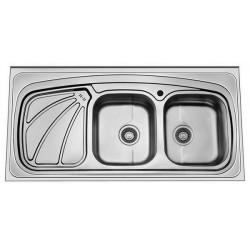 سینک ظرفشویی روکار نیم فانتزی آدلر مدل 240