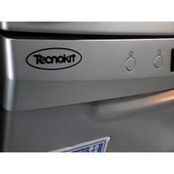 ظرفشویی 14 نفره تکنوکیت نقره ای